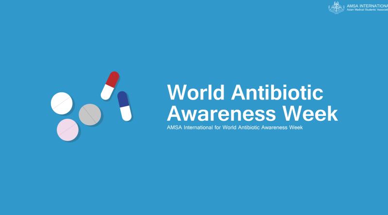 12-18 noiembrie 2019: Saptamana Mondiala a Constientizarii privind Antibioticele